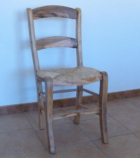 Chair With 2 Slats Model Liso