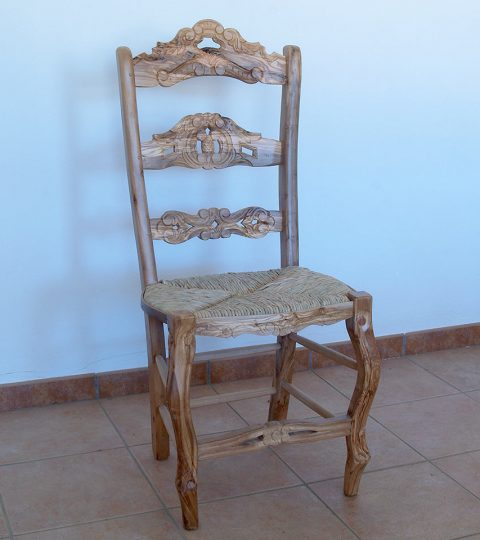 Chair With 3 Slats Model Castro